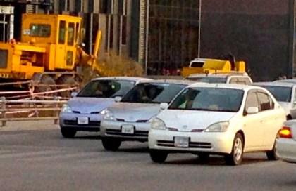 3 Toyota Prius I x3