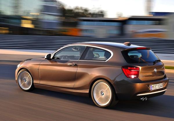 BMW 1 Series England September 2013