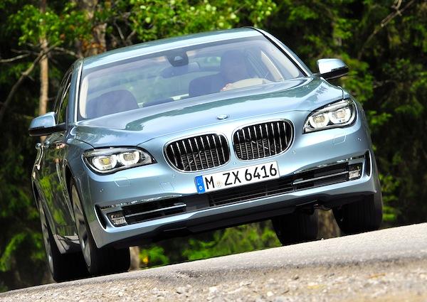BMW 7 Series Romania September 2013