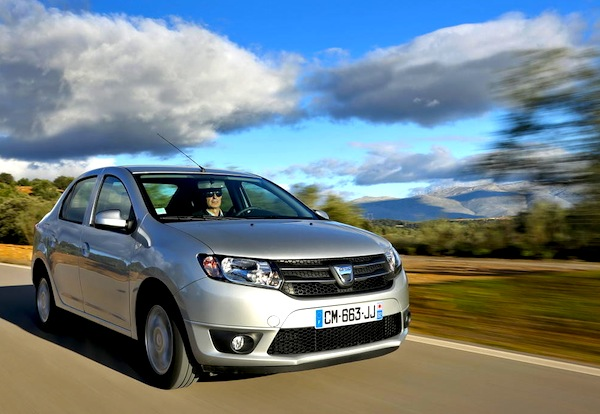 Dacia Logan Romania November 2015. Picture courtesy of largus.fr