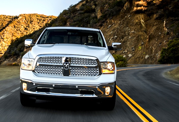 Dodge RAM USA September 2013. Picture courtesy of motortrend.com