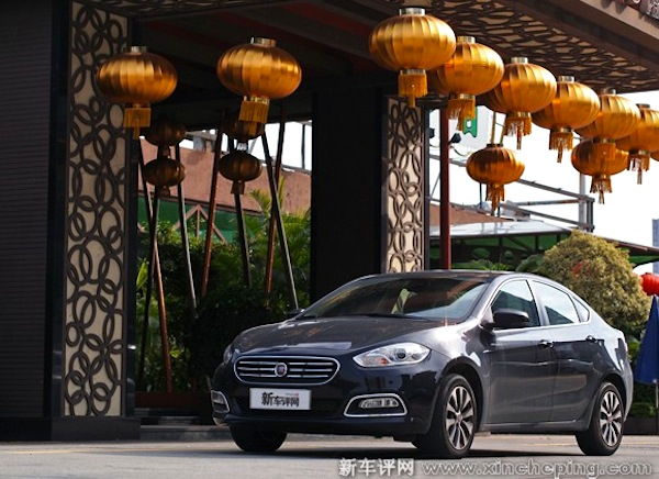 Fiat Viaggio China September 2013