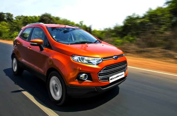 Ford Ecosport India September 2013