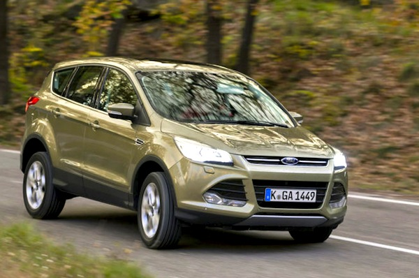 Ford Kuga Germany Seprember 2013. Picture courtesy of autobil.de