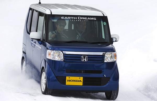 Honda N-BOX Japan September 2013. Picture courtesy of autoc-one.jp