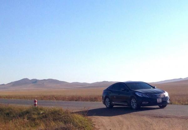 Hyundai Azera Mongolia 2013