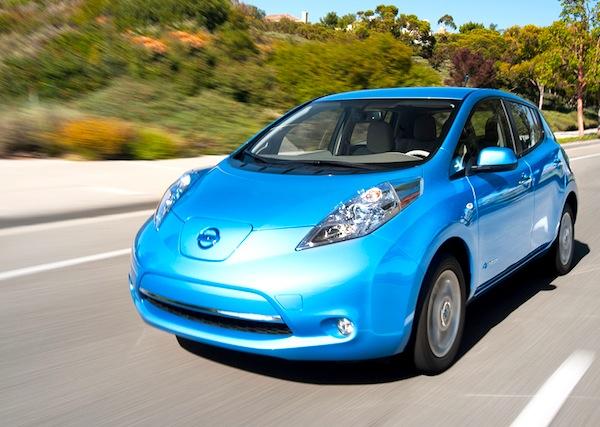 Nissan Leaf USA September 2013