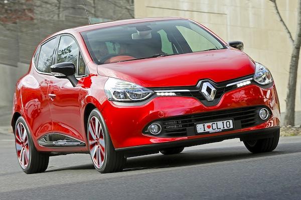 Renault Clio IV France September 2013. Picture courtesy of themotorreport.com.au