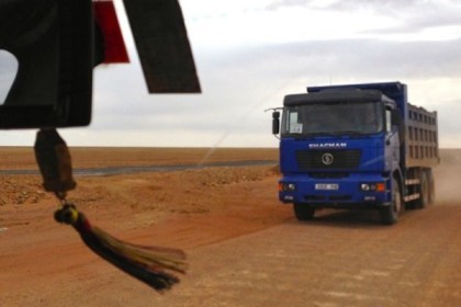 Shachan truck Gobi