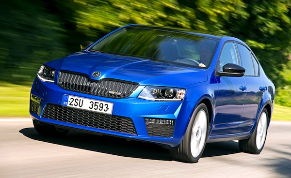 Skoda Octavia World September 2013. Picture courtesy of autobild.de
