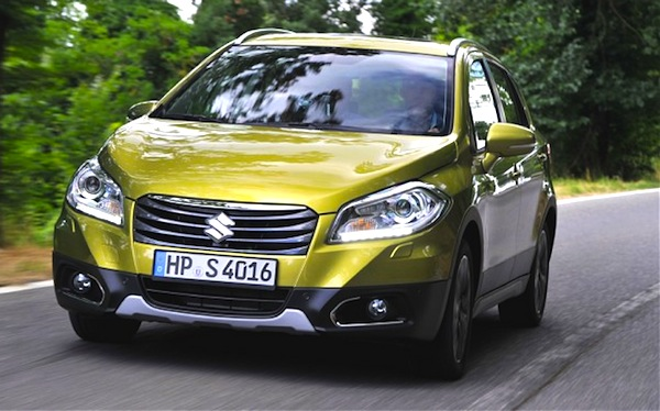 Suzuki SX4 S-Cross Hungary April 2016