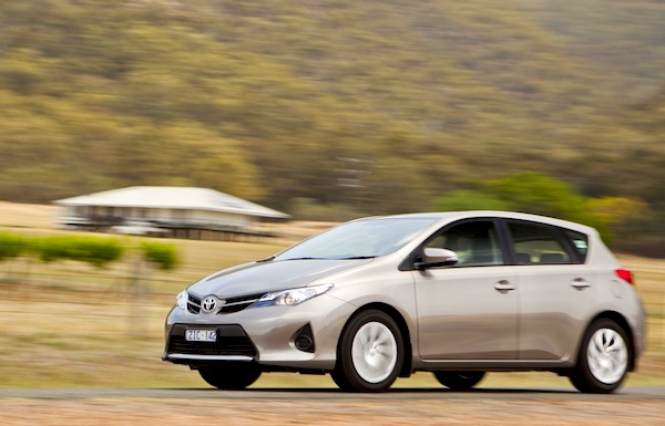 Toyota Corolla Australia September 2013. Picture courtesy of caradvice.com.au