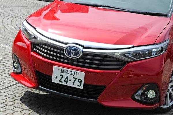 Toyota SAI Japan September 2013. Picture courtesy of car.jp.msn.com