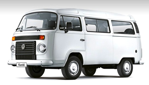 VW Kombi Brazil September 2013