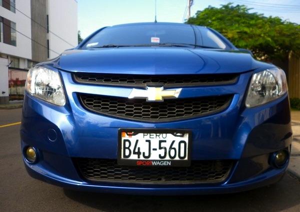 Chevrolet Sail Peru September 2013. Picture courtesy of olx.com.pe