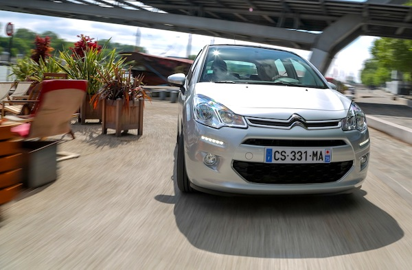 Citroen C3 New Caledonia January 2014. Picture courtesy of largus.fr