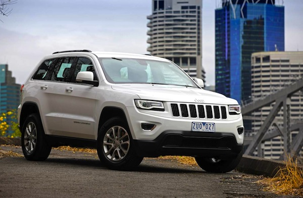 Jeep Grand Cherokee Australia October 2013. Picture courtesy of forcegt.com