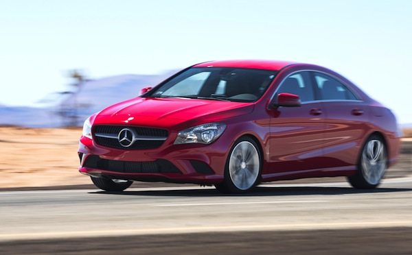 Mercedes CLA USA October 2013. Picture courtesy of www.motortrend.com