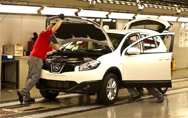 Nissan Qashqai Sunderland UK. Picture courtesy of telegraph.uk