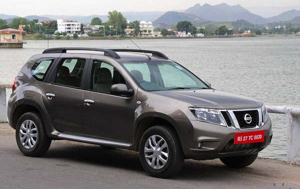 Nissan Terrano India October 2013. Picture courtesy of Motor Beam
