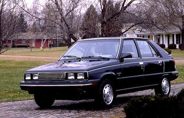Renault Encore USA 1984