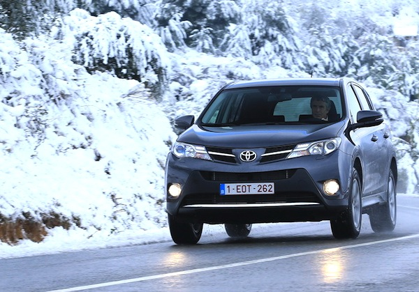 Toyota RAV4 Latvia February 2014. Picture courtesy of largus.fr
