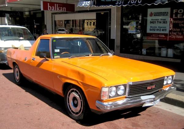 1977 Holden Sandman Ute Sydney December 2013