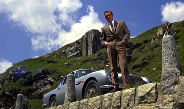 Aston Martin DB5 Goldfinger. Picture courtesy of carmagazine.co.uk