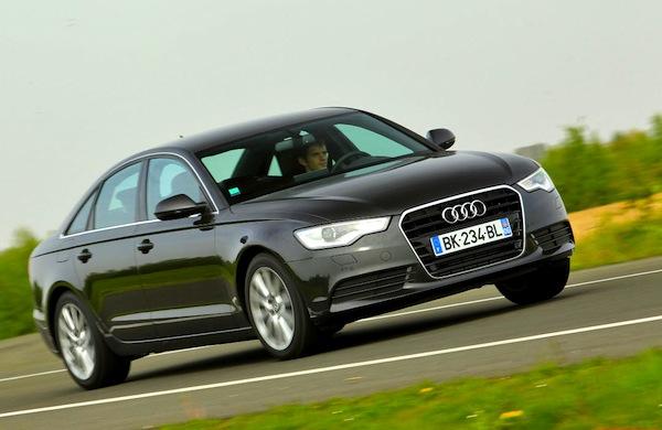 Audi A6 Czech Republic November 2013. Picture courtesy of largus.fr