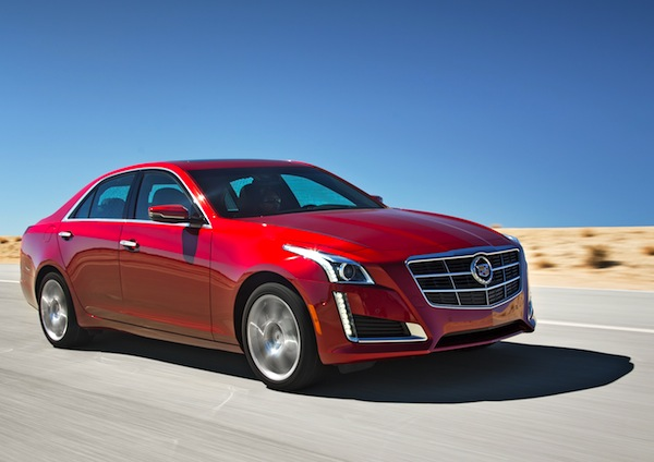 Cadillac CTS Canada November 2013. Picture courtesy of motortrend.com