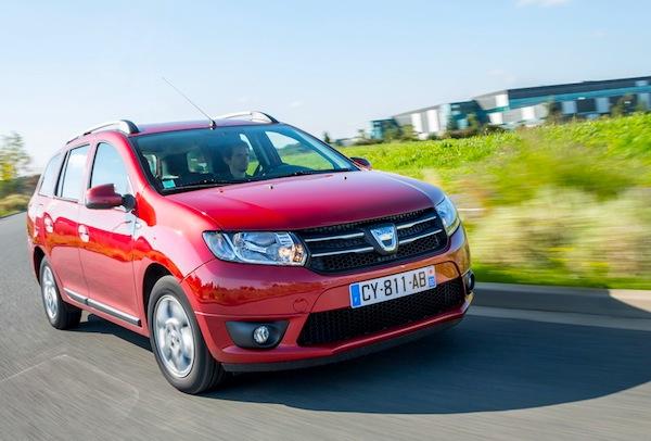 Dacia Logan MCV Europe March 2014