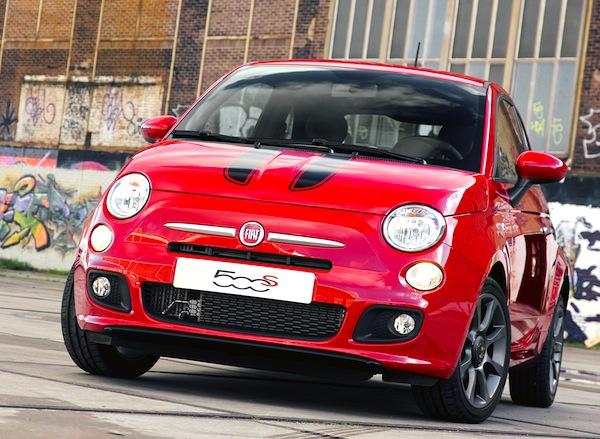 Fiat 500 UK November 2013