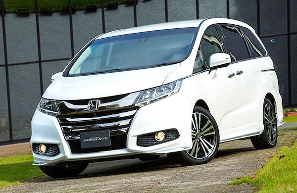 Honda Odyssey Absolute Japan November 2013. Picture courtesy of car.watch.impress.co.jp