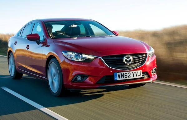 Mazda6 Europe October 2013