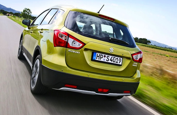 Suzuki SX4 Sweden November 2013. Picture courtesy of autobild.de