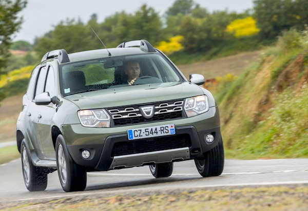 Dacia Duster New Caledonia November 2016. Picture courtesy of largus.fr