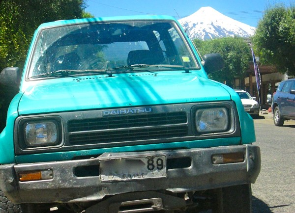 Daihatsu Rocky Chile December 2013