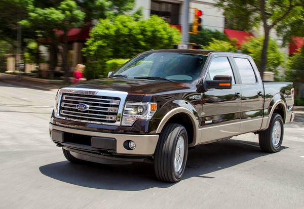 Ford F-Series Canada 2013. Picture courtesy of caranddriver.com