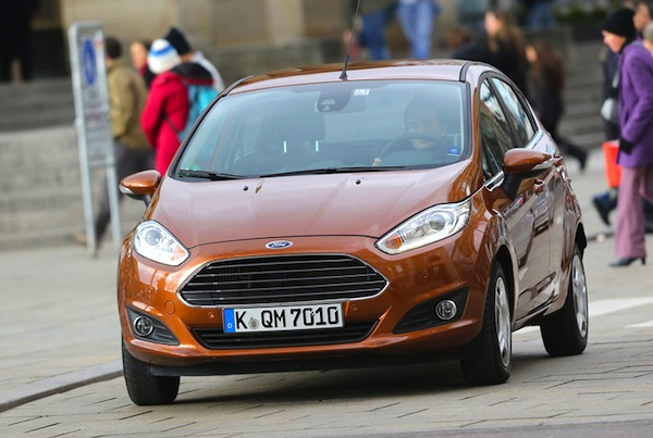 Ford Fiesta Cyprus 2013. Picture courtesy of autobild.de