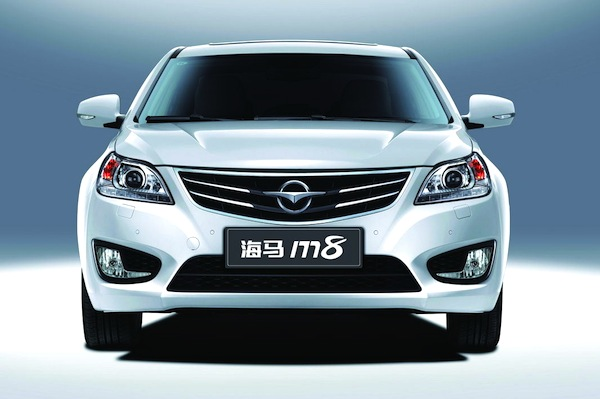 Haima M8 China December 2013