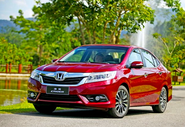 Honda Crider China December 2013. Picture courtesy of auto.sohu.com