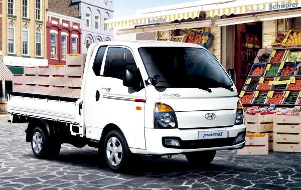 Hyundai Porter South Korea March 2015