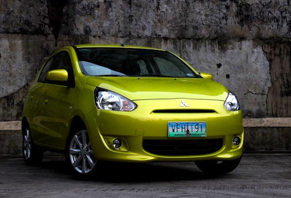 Mitsubishi Mirage Philippines 2013. Picture courtesy of carguide.ph