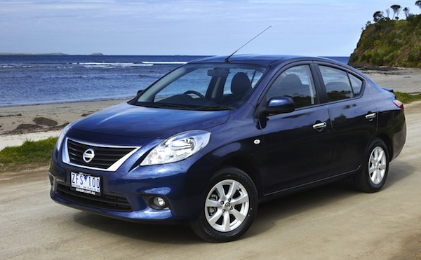 Nissan Almera Madagascar 2013. Picture courtesy of caradvice.com.au