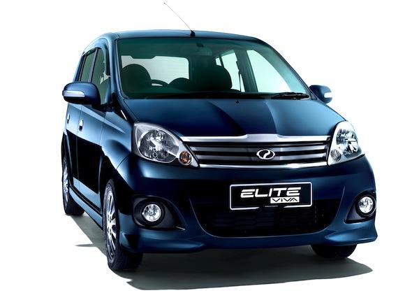 Perodua Myvi Elite Malaysia 2013