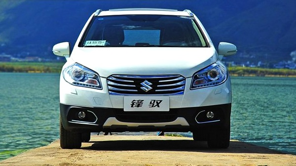 Suzuki S-Cross China December 2013. Picture courtesy of gtimg.com