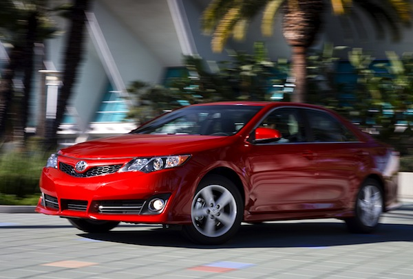 Toyota Camry USA 2013. Picture courtesy of motortrend.com