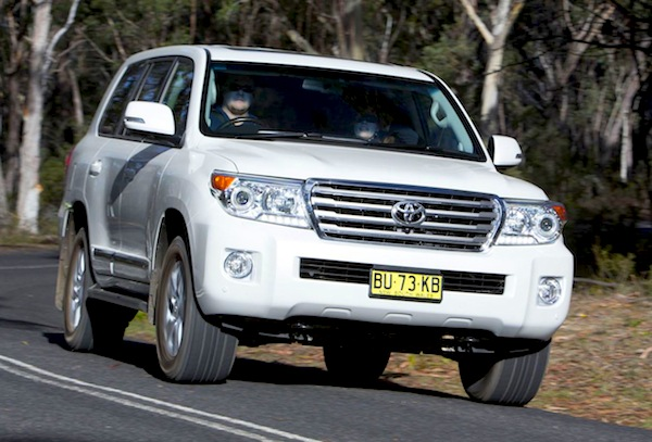 Toyota Land Cruiser Australia 2013. Picture courtesy of themotorreport.com.au