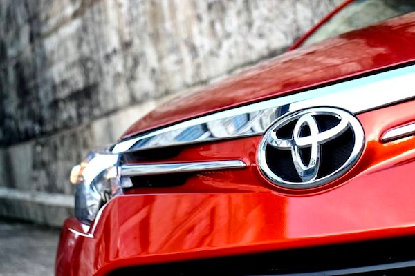 Toyota Vios Philippines March 2014. Picture courtesy of carguide.ph