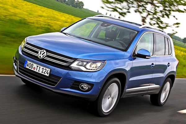 VW Tiguan Germany 2013. Picture courtesy of autobild.de